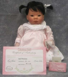 New Lee Middleton Doll Just Precious Baby Doll Reva Schick w COA