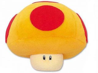 New Super Mario Bros Mario Kart Wii Mega Mushroom Plush