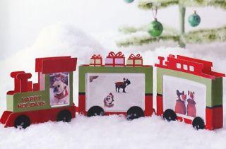 Martha Stewart U Choose Train Tree House Table Decoration Christmas