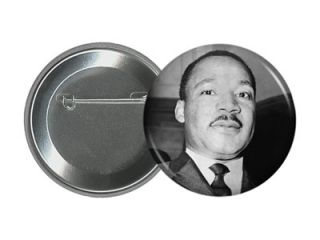 MARTIN LUTHER KING JR 2.25 PIN Design #1 USA Civil Rights Pinback