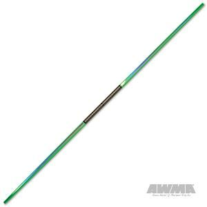 Force Extreme Bo Staff Martial Arts Weapons Green