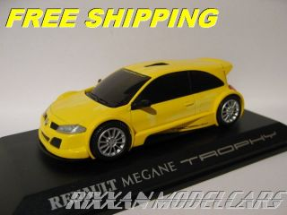 Renault Megane Trophy Concept Car Yellow 1 43 Norev New