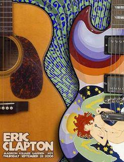 Eric Clapton Firehouse Madison Sq Garden 3 Posters 2006