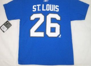 NHL Lightning Martin St Louis Youth T Shirt Jersey