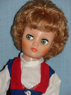 OOAK 19 Uneeda Dollikin with Custom Flirty Eyes