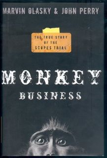 Monkey Business True Story of The Scopes Trial HC Book
