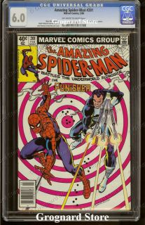 The Amazing Spider Man Spiderman No 201 1980 CGC 6 0