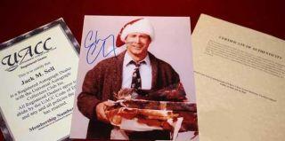 Huge CHRISTMAS VACATION Signed Autograph Set, COA UACC, Blu Ray, MOOSE