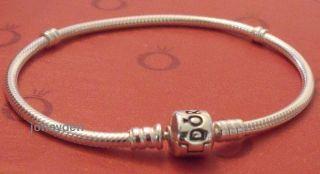 Authentic Pandora 8 3 inch 21cm Bracelet 925 Silver E