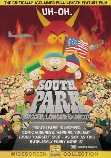 South Park: Bigger, Longer & Uncut (DVD, 1999, Sensormatic)