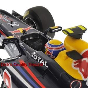 Mark Webbers Red Bull Racing Renault 2011 Showcar by Minichamps