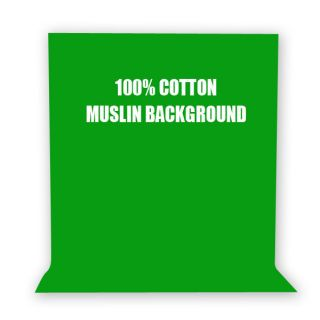 10 x 12 Chromarkey Green Screen Double Muslin Green Backdrops JPG2