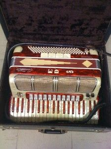Marotta Continental Mark I Concerto Electric Accordion Italy