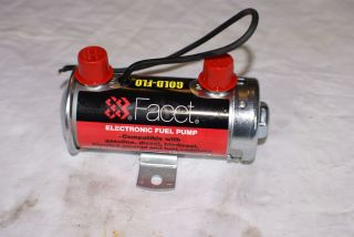 THIS IS A NEW FACET FUEL PUMP CORRECT FOR THE EARLY MASERATI V8 CARS