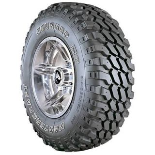 Mastercraft Courser MT Tire 33 x 12 50 15 Outline White Letters 73217