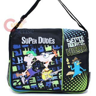 Phineas and Ferb School Messenger Bag Shoulder Hero