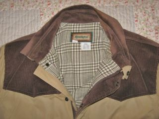 Remington Winter Jacket Coat Mens x Large Waist Length Wind Water