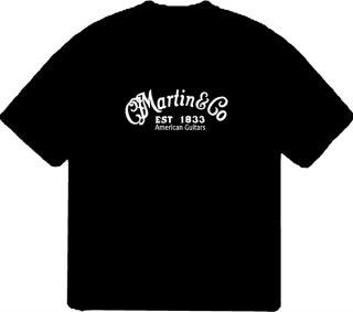 Martin Guitars Graphic Music T Shirt Sizes Colors