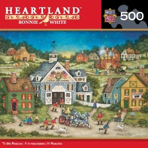 Masterpieces Heartland Bonnie White to The Rescue Jigsaw Puzzle 500 PC