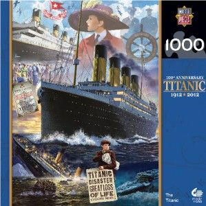 Masterpieces The Titanic SHIP Jigsaw Puzzle 1000 PC