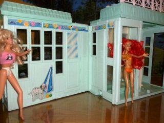 Barbie Beach Bungalow Doll House Mattel
