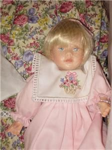 PAULINE BJONNESS JACOBSEN DOLL MARY BETH Doll NIB RARE! Gorgeous! So