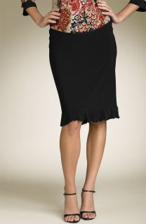 New Japanese Weekend Maternity Cute Black Ruffle Skirt