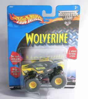 Monster Jam Wolverine Mattel Mudder Diecast Monster Tires Toy Truck