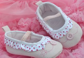 Pink Mary Jane Infant Toddler Baby Girl Shoes 0 18 Months