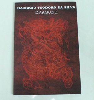 Mauricio Teodoro Da Silva Dragons Japanese Style Tattoo Flash Book