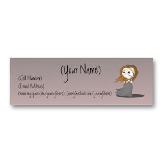 Sad Girl Business Card