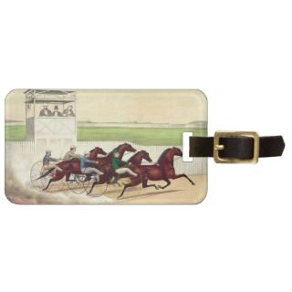 TOP Horse Racing Is My Life Travel Bag Tag