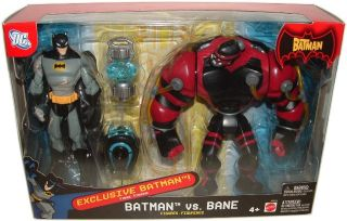 DC Batman vs Bane Exp Animated Series Extreme Power Exclusive Figure 2
