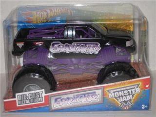 Mattel Hot Wheels Monster Jam Eradicator 1 24 Scale Diecast Monster