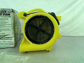 Maxxair HVCF4000 4000 CFM High Heavy Duty Carpet and Floor Drying Fan