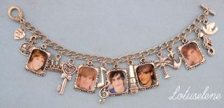 james Maslow♥big Time Rush♥photo Picture Image Charm Bracelet