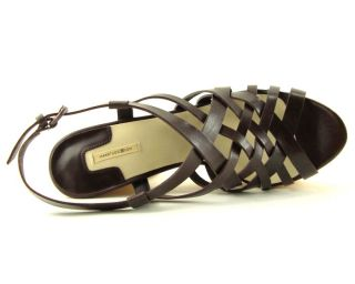 Max Studio Oakey Brown Womens Shoes Sandals 7 M