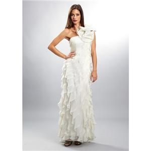 Morell Maxie 13153 Formal Prom Wedding Destination Social Dress Ivory
