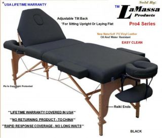 Massage Table New Bed Portable Four Color Choices P4K