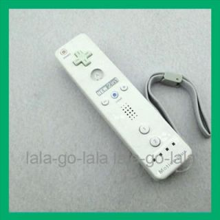 New White Built in Motion Plus Remote Controller for Nintendo Wii Game