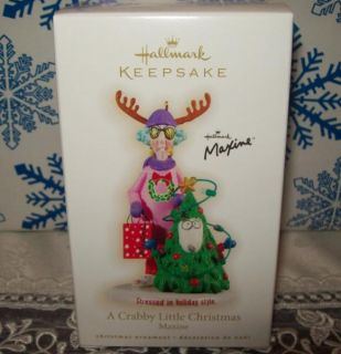 Hallmark Maxine A Crabby Little Christmas 2009 Keepsake Ornaments
