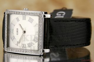 New Guess Ladies Watch Black Leather G75603L BNWT USA