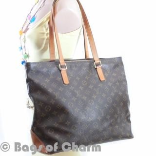 Authentic Louis Vuitton Monogram Cabas Mazzo Bag Purse Handbag