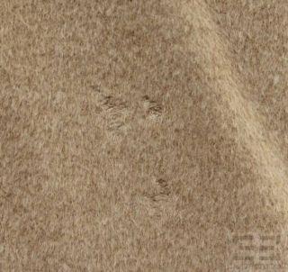 MaxMara Beige Angora Wool Full Length Belted Coat Size US 8