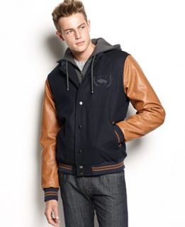 Buffalo David Bitton Jacket, Varsity Bomber Jacket