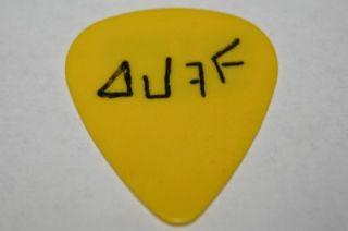 Guns N Roses Duff McKagan 1991 92 World Concert Tour Guitar Pick RARE
