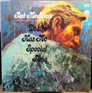 Rod McKuen Desire Has No Special Time LP VG SDBR 3208 Vinyl Record