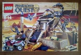 Lego 7327 Pharaohs Quest Scorpion Pyramid Brand New Factory SEALED