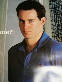 Vtg 1985 Nike John McEnroe Poster RARE 80s Tennis