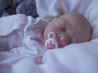 Beautiful Reborn Baby Girl Doll Maurice Evelina Wosnjuk 3 Day Listing